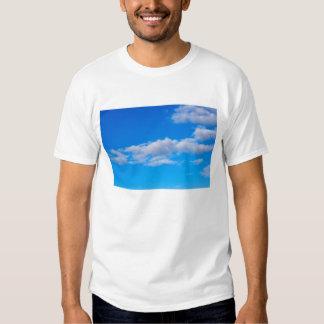 nubes de cúmulo sobre el antártico occidental remeras