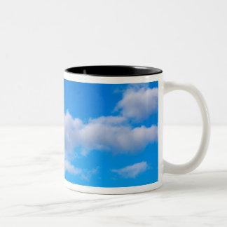 nubes de cúmulo sobre el antártico occidental taza dos tonos