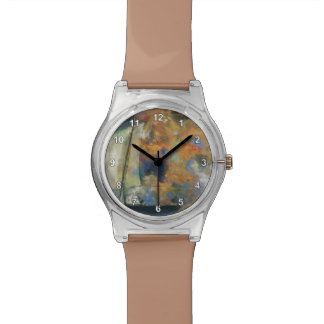 Nubes de la flor de Odilon Redon- Relojes