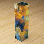 Nubes de la flor - pintura de Odilon Redon Cajas Para Botellas De Vino