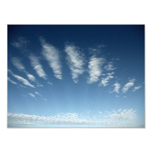 nubes de la ondulación fotografía