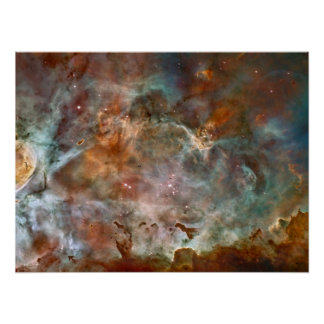 Nubes de la oscuridad de la nebulosa de Carina Impresiones