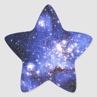 Nubes de Megellanic Pegatina En Forma De Estrella