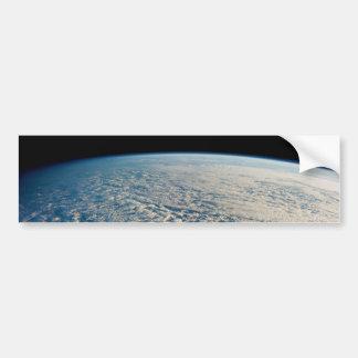 Nubes de Stratocumulus sobre el Océano Pacífico Pegatina De Parachoque