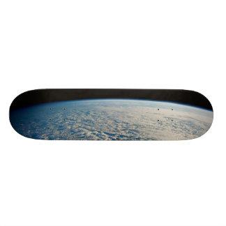 Nubes de Stratocumulus sobre el Océano Pacífico Monopatín