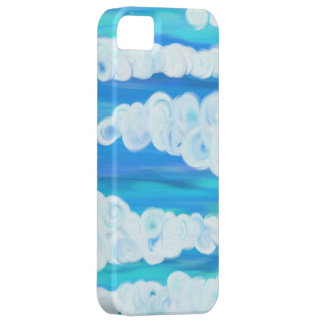 Nubes de Swirly iPhone 5 Case-Mate Carcasas