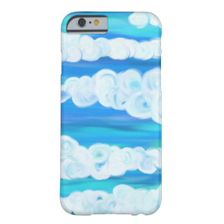 Nubes de Swirly Funda Para iPhone 6 Barely There