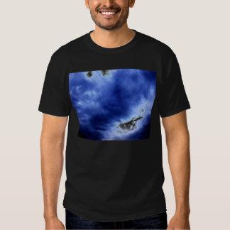 Nubes de tormenta azules luminosas por KLM Playeras