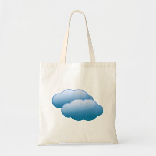 Nubes de tormenta bolsa de mano