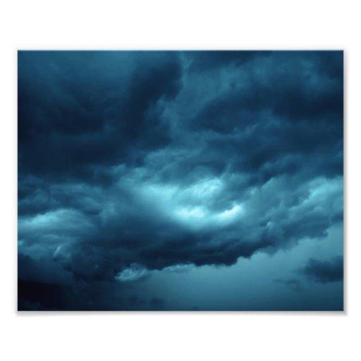 Nubes de tormenta fotografía