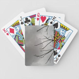 Nubes de tormenta oscuras baraja cartas de poker