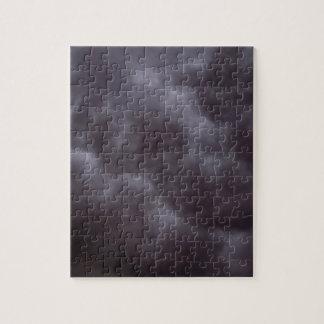 Nubes de tormenta oscuras puzzle con fotos