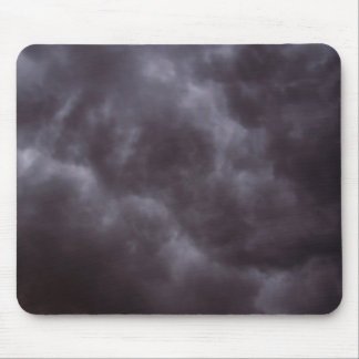 Nubes de tormenta oscuras tapetes de raton