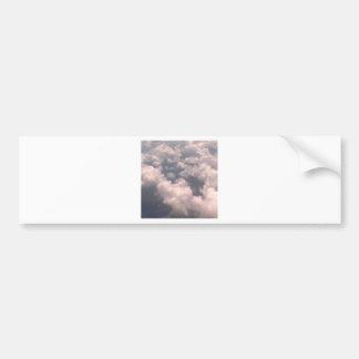 Nubes de tormenta sobre Atlanta, Georgia #3 Etiqueta De Parachoque