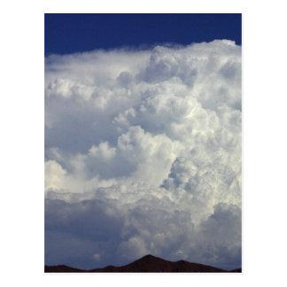 Nubes de tormenta postales
