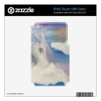 Nubes del ángel iPod touch 4G skin