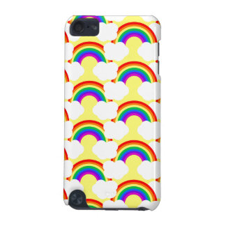 Nubes del arco iris funda para iPod touch 5G