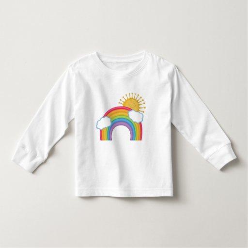Nubes del arco iris playeras