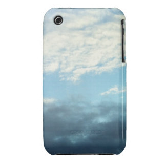 Nubes del contraste Case-Mate iPhone 3 protectores