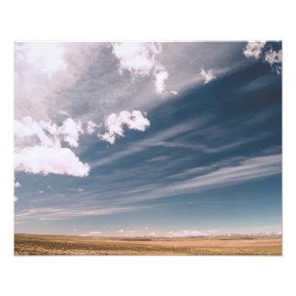 Nubes del desierto fotografías