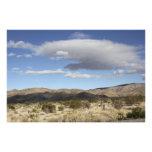 Nubes del desierto fotografias