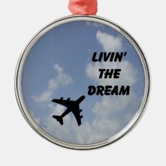 Nubes del ornamento del aeroplano adornos