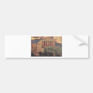 Nubes del Parthenon de Grecia Atenas (St.K) Pegatina Para Auto
