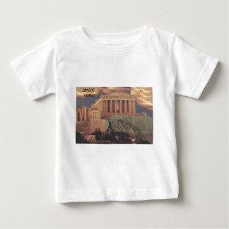 Nubes del Parthenon de Grecia Atenas (St.K) Playera