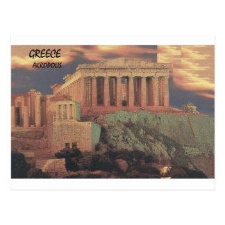 Nubes del Parthenon de Grecia Atenas (St.K) Postal
