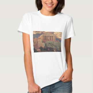 Nubes del Parthenon de Grecia Atenas (St.K) Remera
