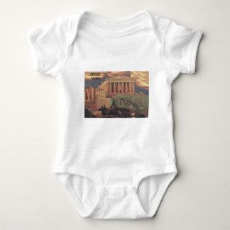 Nubes del Parthenon de Grecia Atenas (St.K) Remeras