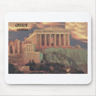 Nubes del Parthenon de Grecia Atenas (St.K) Tapetes De Ratón