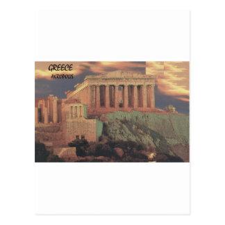 Nubes del Parthenon de Grecia Atenas (St.K) Tarjeta Postal