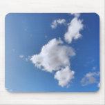 Nubes del verano alfombrillas de ratones