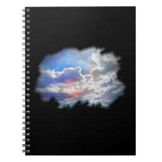 Nubes dentro, cuaderno