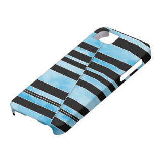 Nubes divididas - caso del iPhone 5 Funda Para iPhone 5 Barely There