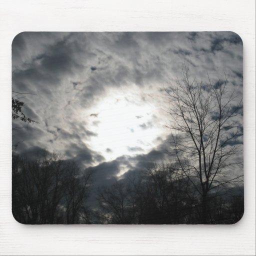 Nubes divinas Mousepad Alfombrillas De Ratones