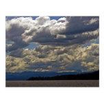Nubes, el lago Tahoe Tarjetas Postales