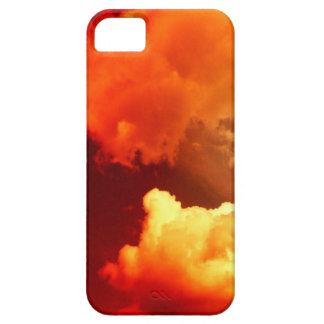 NUBES EN EL CIELO ROJO iPhone 5 Case-Mate COBERTURAS