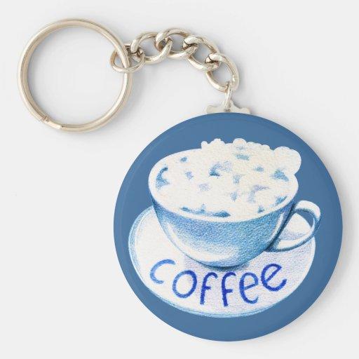 Nubes en mi llavero del café
