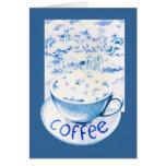 Nubes en mi tarjeta del café