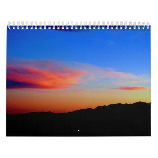nubes en New México Calendarios De Pared