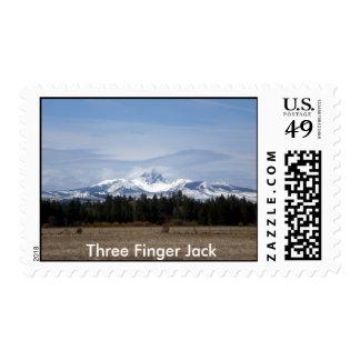 Nubes en tres el dedo Jack Franqueo