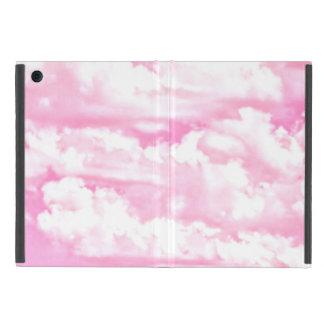 Nubes felices en rosa claro iPad mini carcasa
