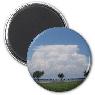 Nubes Imán Redondo 5 Cm