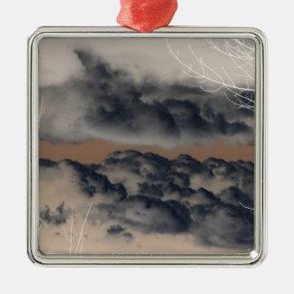 ¡Nubes! (Imagen invertida/negativa) Adornos