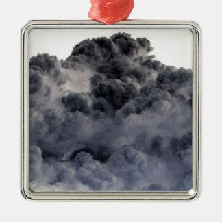 ¡Nubes! (Imagen invertida/negativa) Ornamentos Para Reyes Magos