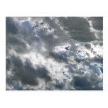 Nubes inspiradas #4 - productos múltiples tarjeta postal