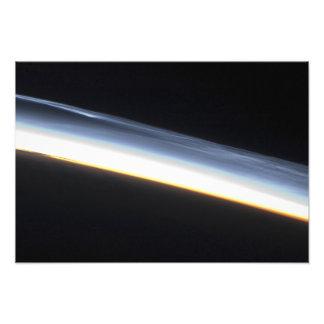 Nubes mesospheric polares arte fotografico