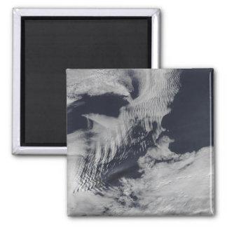 nubes Nave-onda-formadas en el indio del sur Oce Imán Cuadrado